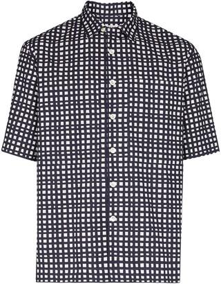 Loreak Mendian Check Short Sleeved Shirt