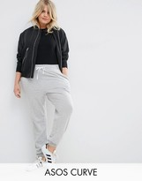 Asos Track Pant With Contrast Tie