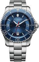 Victorinox Men's Swiss Maverick Stainless Steel Bracelet Watch 43mm 241706