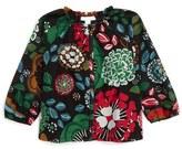 Burberry Mini Kamila Cotton & Silk Top (Toddler Girls)