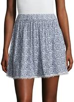 Raga Women's Wild Love Printed Mini Skirt