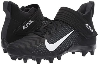 Nike Alpha Menace Varsity 2 (Black/White/Anthracite) Men's Cleated Shoes