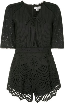 We Are Kindred Lua broderie anglaise playsuit