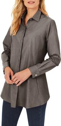 Foxcroft Cici Non-Iron Tunic Blouse