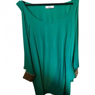 ELLA LUNA \N Green Silk Dress for Women