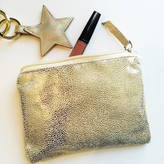 French Grey Interiors Metallic Shimmer Pouch