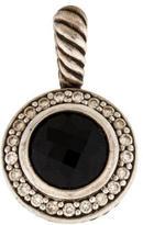 David Yurman Onyx & Diamond Cerise Pendant
