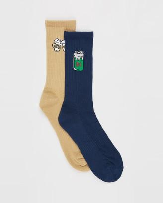 Barney Cools Cheers Mate 2-Pack Socks