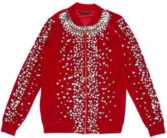 Manish Arora Red Velvet Jackets
