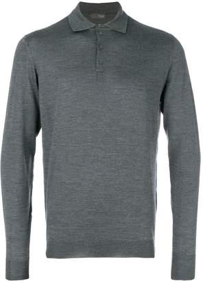 Drumohr plain polo shirt