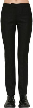 Alexander McQueen Wool Oxbridge Cigarette Pants