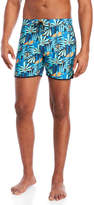 Sundek Printed Lace-Up Board Shorts