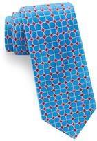 Ted Baker Men's Geometric Flower Silk Tie