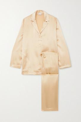 La Perla Silk-satin Pajama Set - Beige