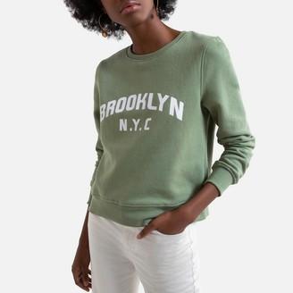 Only Slogan Cotton Mix Sweatshirt