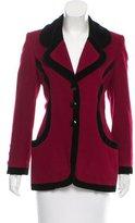 Oscar de la Renta Vintage Wool Coat
