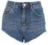 Topshop Moto kiri high side shorts