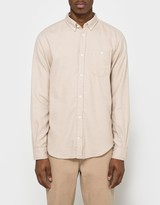 Norse Projects Osvald Brushed Shirt in Khaki