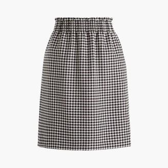 J.Crew Wool-blend pull-on mini skirt with elastic waist