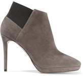 Jimmy Choo Talula Suede Ankle Boots - Gray