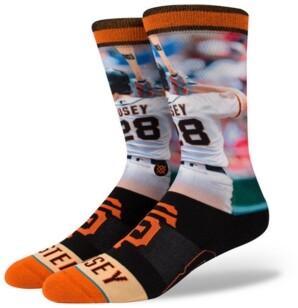 Stance Buster Posey San Francisco Giants Player Crew Socks