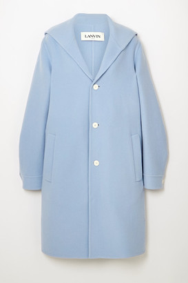 Lanvin Wool And Cashmere-blend Coat - Blue