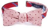 The Tie Bar Men's Spring Break Reversible Silk & Linen Bow Tie