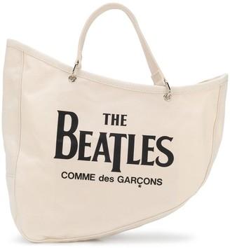The Beatles X Comme Des Garçons Slogan Tote Bag