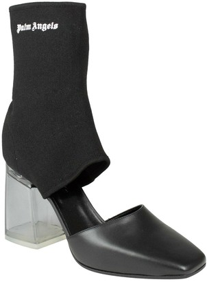 Palm Angels \N Black Cloth Ankle boots