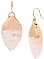 Kenneth Cole New York Geometric Quartz Stone Drop Earrings