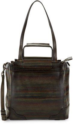 Frye Charlie Printed Leather Tote