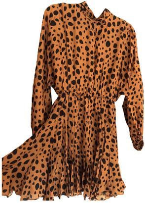 Rhode Resort Camel Viscose Dresses