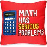 Threadless Math Serious Throw Pillow