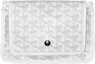 Goyard White Cloth Clutch bags