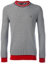 Love Moschino striped longsleeved T-shirt - men - Cotton - M