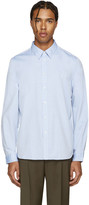 Paul Smith Blue Poplin Pocket Shirt
