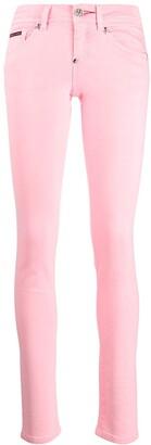 Philipp Plein Mid-Rise Skinny Jeans