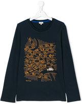 Paul Smith teen long sleeve printed T-shirt