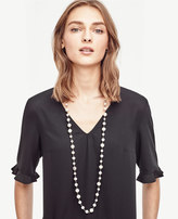 Ann Taylor Pearlized Necklace
