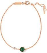 Piaget Possession 18-karat Rose Gold, Malachite And Diamond Bracelet - one size
