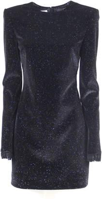 Philosophy di Lorenzo Serafini Stretch Velvet Dress