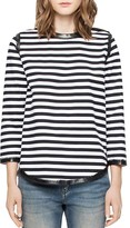 Zadig & Voltaire Woody Bis Striped T-Shirt