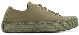Visvim Prima lace-up folk sneakers