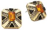 House Of Harlow Art Deco Stud Earrings