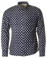 Universal Works Standard Long Sleeved Ikat Printed Shirt
