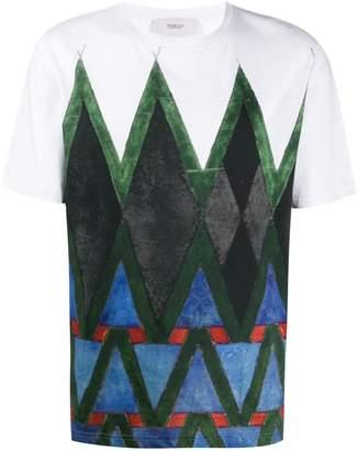 Pringle Diamond-print T-shirt