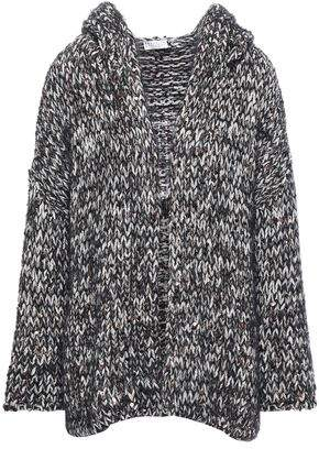Brunello Cucinelli Sequin-embellished Knitted Hooded Cardigan