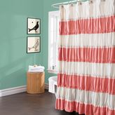 Bed Bath & Beyond Isla Shower Curtain in Coral