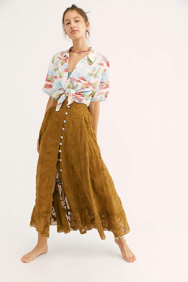 352cbb574e Free People Maxi Skirt - ShopStyle