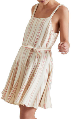 Seed Heritage Striped Swing Dress No